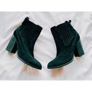 Dolce Vitta Suede Ankle Boots